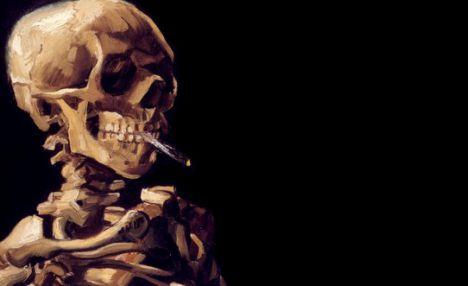 Вредные привычки и скелет