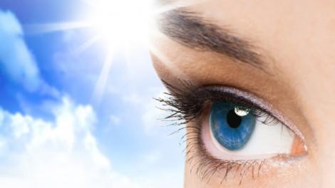 Соляризация глаз