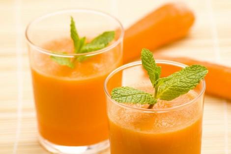 морковный сок от кровоточивости десен
