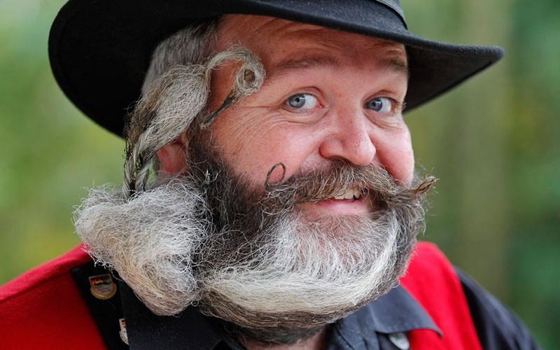 носить бороду полезно