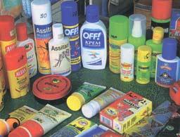 крема и спреи от комаров