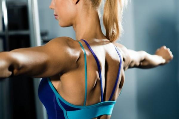 крепкие мышцы