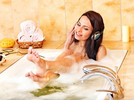 как принимать ванну с пользой