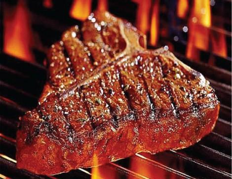 Жареное мясо вредно мужчинам