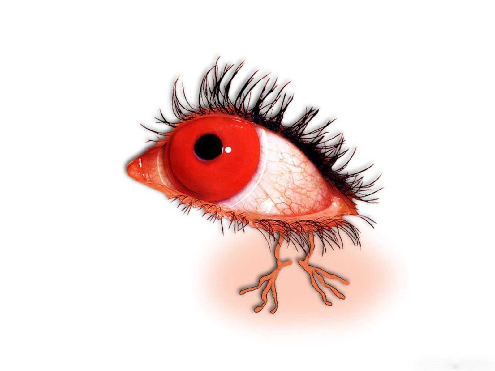 как избавиться от красных глаз