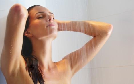 контрастный душ для бодрости