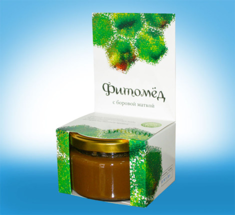 Мед из боровой матки фото