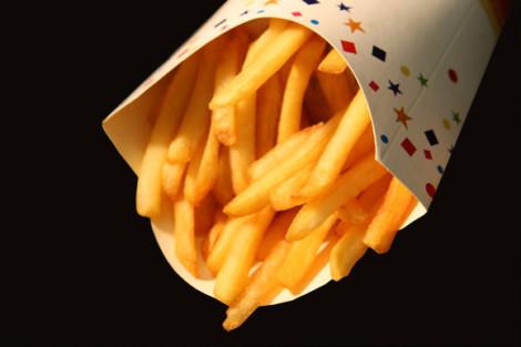 картофель фри вреден зубам