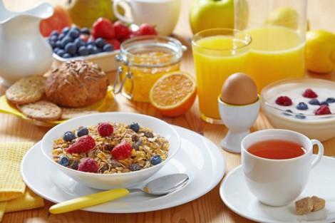 завтракайте, чтобы не испытывать упадка сил