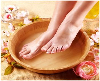ванночки для ног от потливости