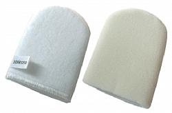 используйте только мягкие мочалки для лица
